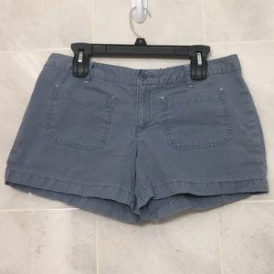 Used | Blue short-shorts | Women's Size: 10